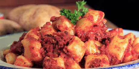 Annie's Meat Sauce and Gnocchi
