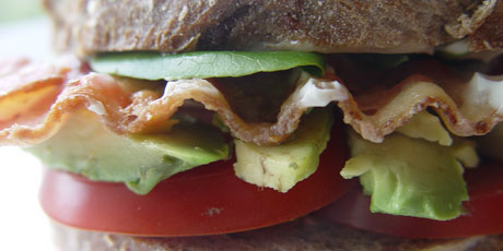 Avocado BLT Sandwich