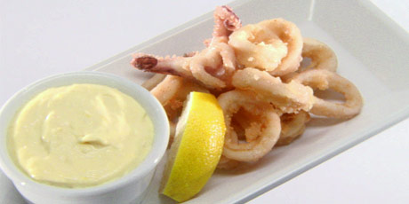 how to cook calamari tender