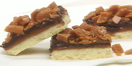 December's Cooking Club Sweet Treat: Anna O's Caramel Toffee Squares