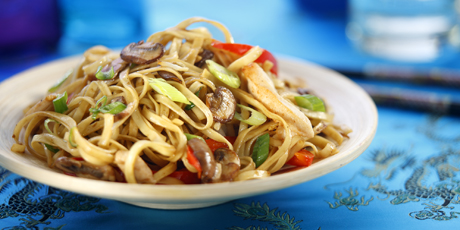 Chicken in Chow Mein Sauce