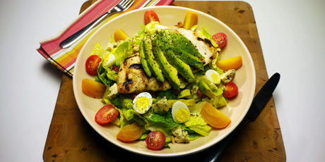 Cobb Salad with Lemon Vinaigrette