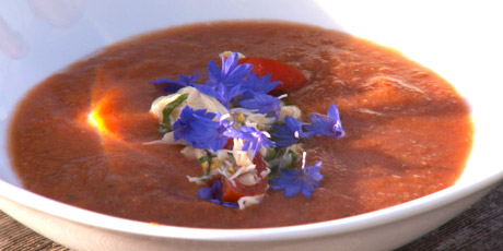Gazpacho with Crab Salad