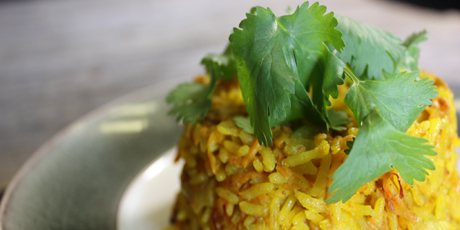 Golden Rice Pilaf