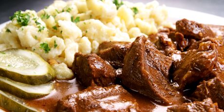 Hungarian Goulash (from the Black Forest Inn)