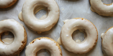 Low Fat Cinnamon Apple Baked Doughnuts Recipes Food