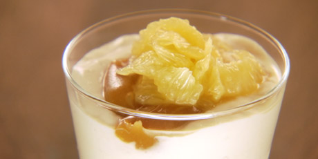 Meyer Lemon and Honey Pannacotta