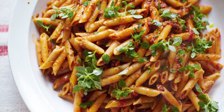 Pregnant Jools's Pasta, Crunchy Chicory & Watercress Salad, Little ...